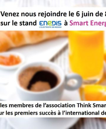 petit dej think smartgrids smart energies expo