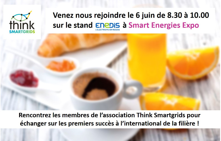 petit dej think smartgrids smart energies expo