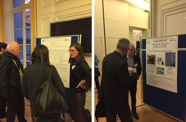 Think Smartgrids session posters echanges synergies
