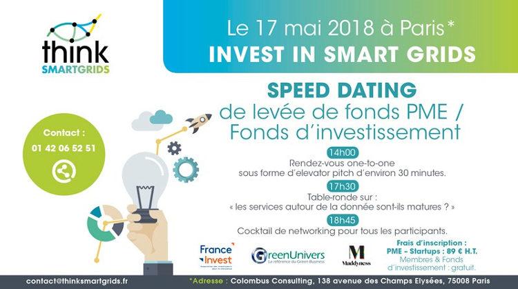 Think Smartgrids 3ème édition Invest In Smart Grids mai2018